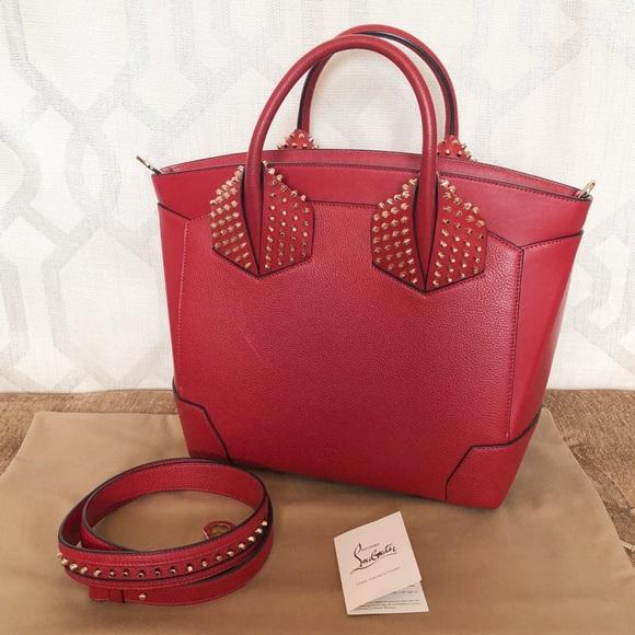 346c9f1aa4b Sold Christian Louboutin Large Eloise Red Handbag